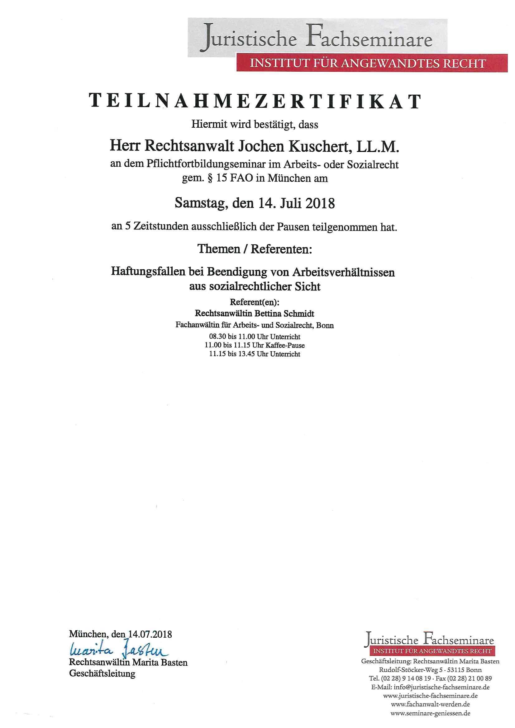 Kündigung Vs Aufhebungsvertrag Rechtsanwaltskanzlei Kuschert