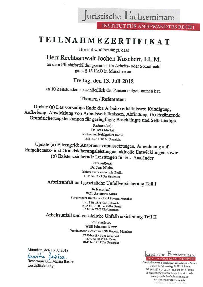 Schnittstelle Arbeits-/Sozialrecht